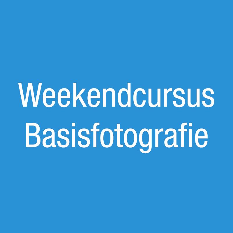 Weekendcursus Basisfotografie